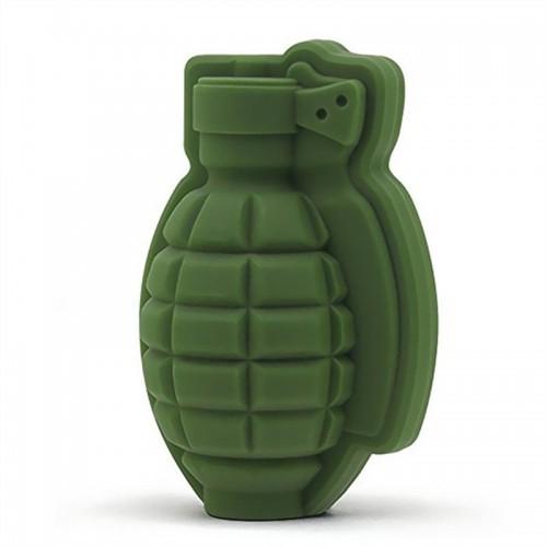 1PCS 3D Grenade Shape Ice Cube Mold Tray Ice Cream Maker