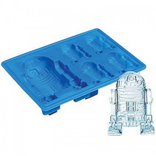 New Lovely Star Wars Ice Tray Silicone Mold Ice Cube Tray Chocolate Mould Death Star Darth