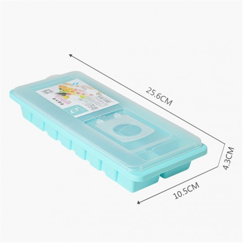 Tenske ice cube trayt 16 Cavity Ice Cube Box With Lid Cover Drink Jelly