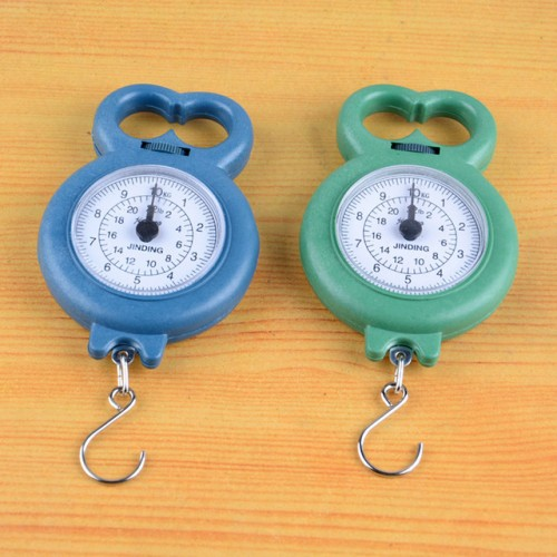 01kg 10kg luggage weight scale portable needle hanging for Fish weighing scales