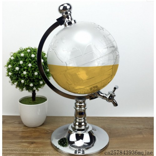 Unique Design Mini Globe Shape Home Night Club Beverage Liquor Liquid Drinking Dispenser