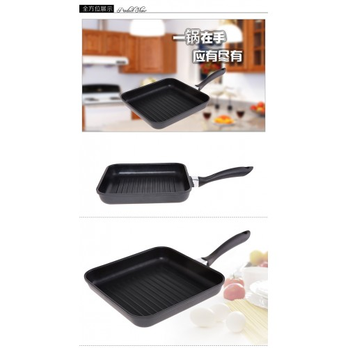 Cooking Utensils French Steak Pan Without Oil Fume Non