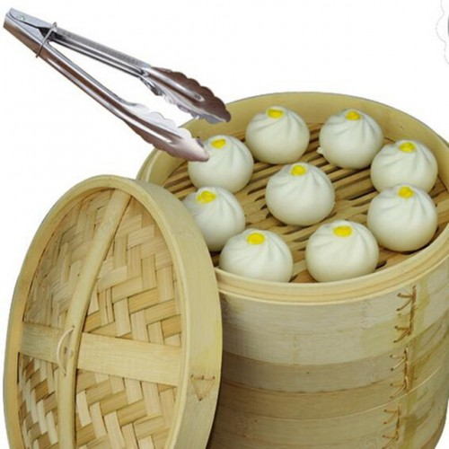 Durable cookware bamboo steamer chinese kitchen cookware for Perfect kitchen dim sum