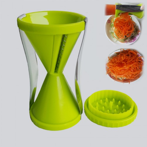 Vegetable spiral peeler