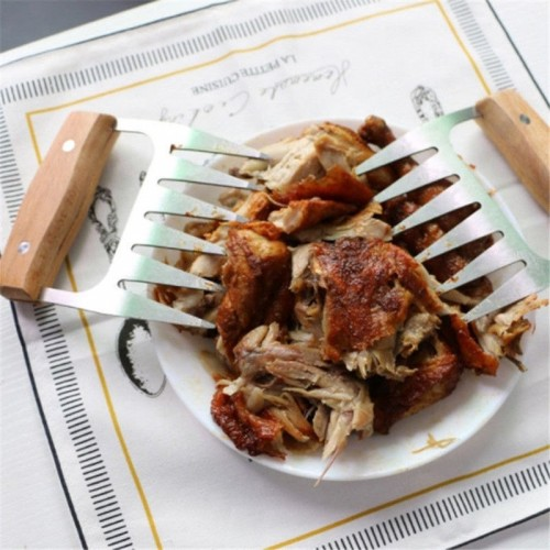 1PC Bear Paws Claws Meat Handler Forks Tongs Pull Shred Pork Roasting Fork BBQ Shredder Barbecue