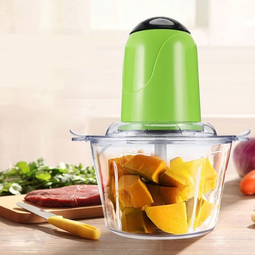 2L Electric Kitchen Meat Grinder Chopper Cocina Shredder Food Chopper Stainless Steel Electric Household Processor Kitchen