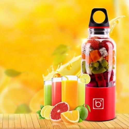 500ml Portable Juicer Cup USB Rechargeable Electric Automatic Bingo Vegetables Fruit Juice Maker Cup Blender Mixer