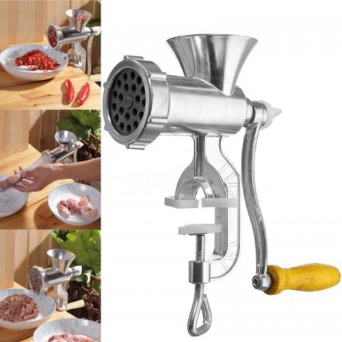 Kitchen Tool Manual Mincer Meat Grinder Pasta Maker Hand Operated Beef Sausage Maker
