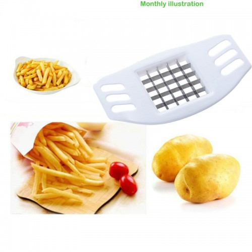 New French Fry Potato Chip Cut Cutter Vegetable Fruit Slicer Chopper Chipper Blade Cutters Cooking Tools
