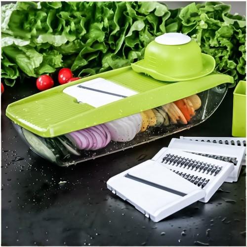 New Mandoline Slicer Manual Vegetable Cutter with 5 Blades Potato Carrot Grater for Vegetable Onion Slicer