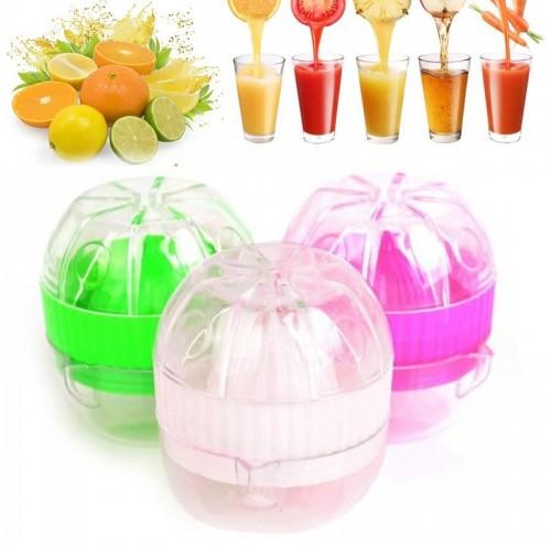 Portable Manual Lemon Juicer Mini Fruit Hand Juice Bottle Small Fruit Squeezer Machine Extractor Hand Press