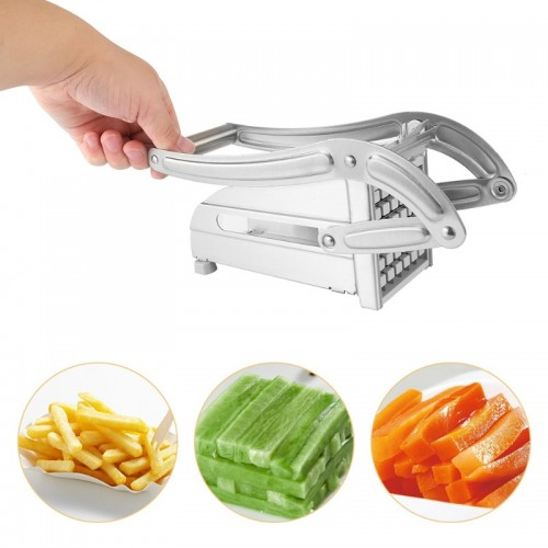 Stainless Steel Household Potato Strip Cutter Fry Cutters Kitchen Tools Potato Chips Strip Cutting Fries Chopper