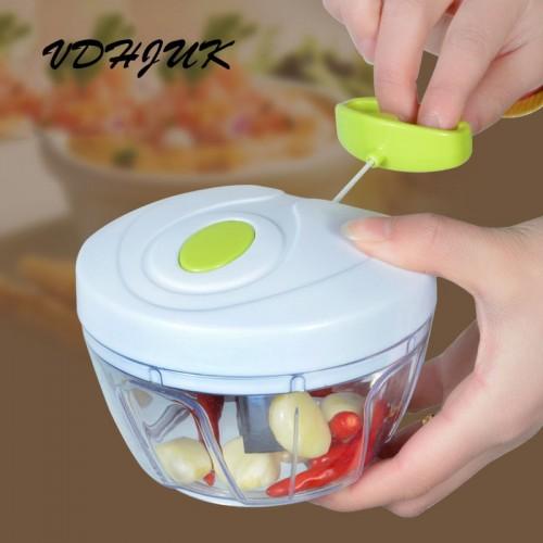 new High quality Chopper Garlic Cutter Vegetable Fruit Twist Shredder Manual Meat Grinder