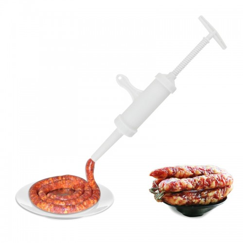 1pc Manual Sausage Stuffer Tools Food Grade Plastic Sausage Cod Fish Intestines High Capacity Kitchen Meat