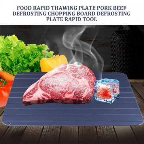 Food Rapid Thawing Plate Beef Defrosting Chopping Board Defrosting Plate Rapid Tool