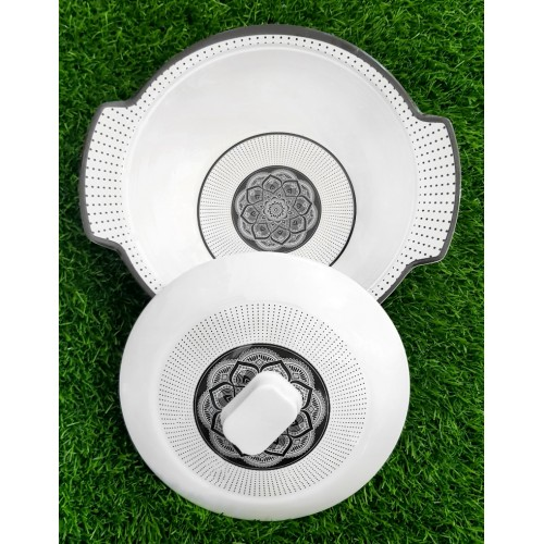 Crockey Dinner Set Bowl Home Kitchen Glazed Melamine High Quality