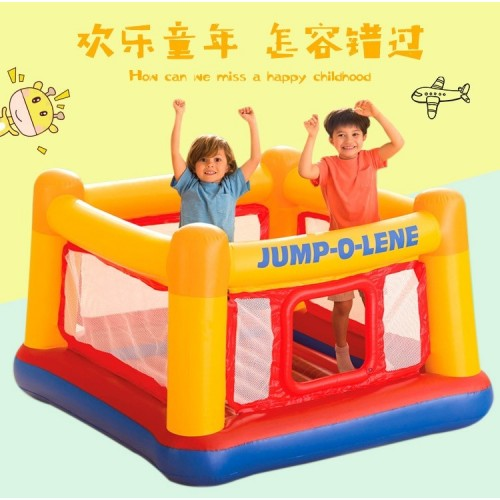 Children's Inflatable Indoor Trampoline Household Small Jumping Bed
