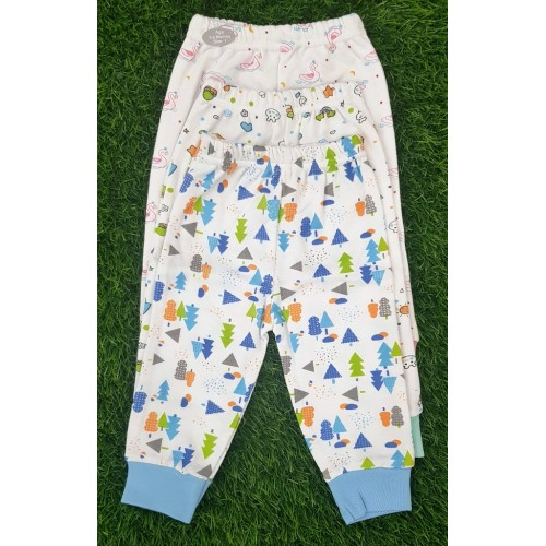 Set Of Three Baby Pants Baby Clothes Cartoon Printed Newborn Baby Cotton Trousers High Quality