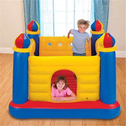 Castle Inflatable Wrestling Jumping Bouncy Boxing Rings Bounce House For Children