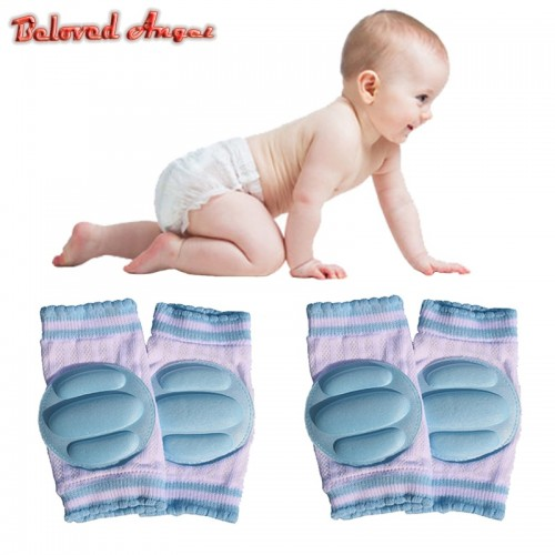 1 Pair Baby Knee Protection Pads Cotton Harnesses Leashes Safety Crawling Elbow Cushion Kids Knee Protectors
