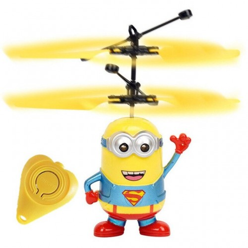 Mini Infrared Sensor Helicopter Aircraft Remote Control Toy Drone