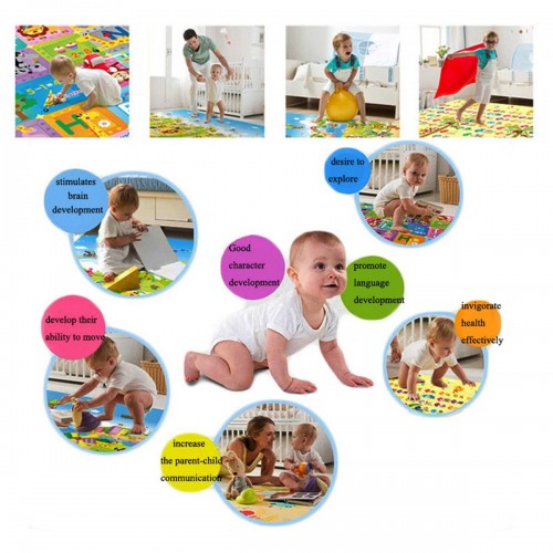 Baby Play Mat Toys For Children's Rug Rubber Playmat Mat  Eva Puzzles Foam