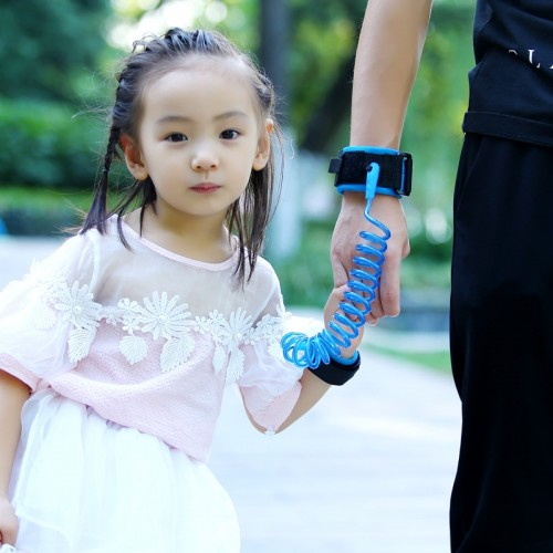 5m 2m Adjustable Kids Safety Anti lost Wrist Link Band Children Braclet Wristband Baby