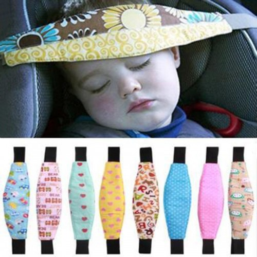 Baby Car Safety Seat Sleep Positioner Infants And Toddler Head Support Pram Stroller Accessories Kids Adjustable