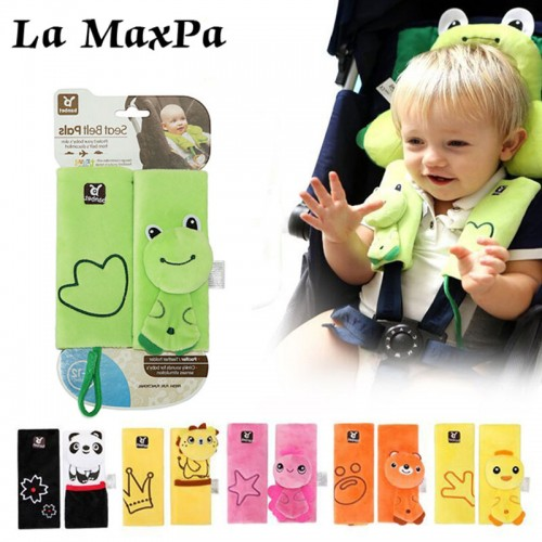 Baby Car Seat Safety Belt Strap Cover Pad Safety Shoulder Pads Soft Strap Protection Cushion Baby
