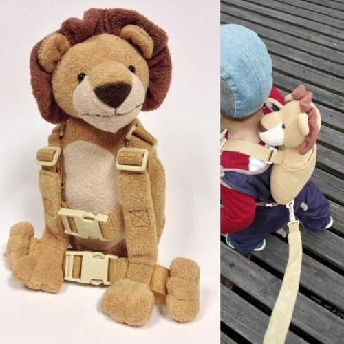 Cute 2 in 1 Harness Buddy Baby Safety Harnesses Animal Toy Backpacks Bebe Walking Reins Toddler