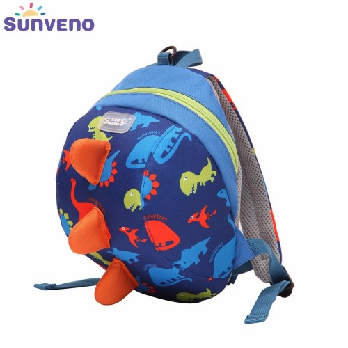 Cute Cartoon Toddler Baby Harness Backpack Leash Safety Anti lost Backpack Strap Walker Dinosaur Backpack