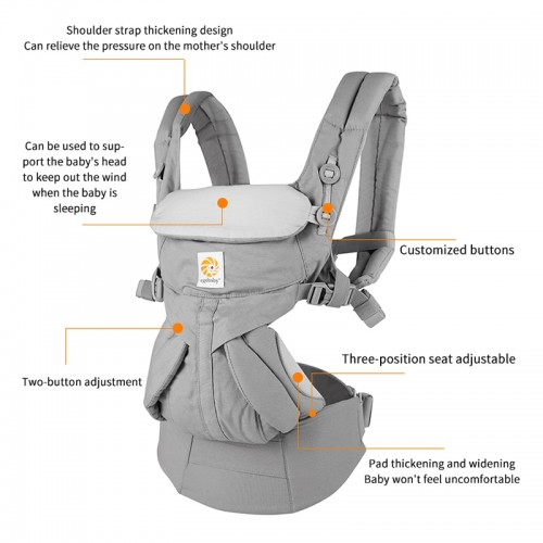 Egobaby omni 360 Baby Carrier Multifunction Breathable Infant Carrier Backpack Kid Carriage Toddler baby Sling Wrap