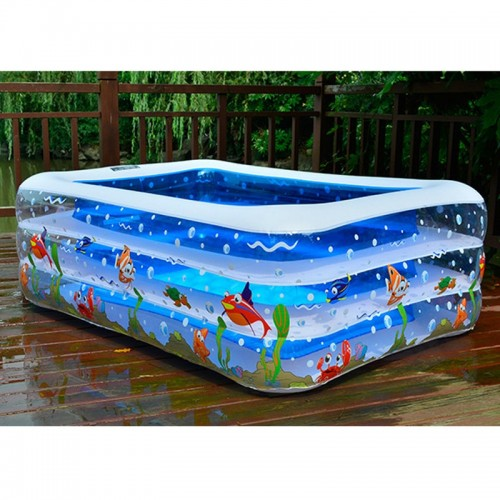 Kids inflatable Pool High Quality Children s Home Use Paddling Pool Large Size Inflatable Square Swimming