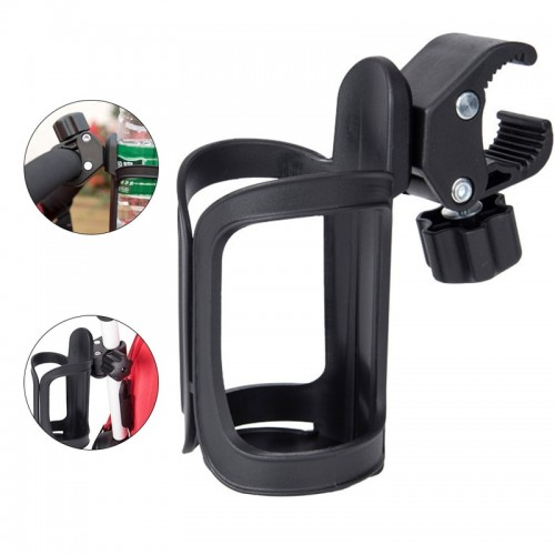 New Baby Stroller Cup Holder Rack Bottle Universal 360 Rotatable Cup Holder for Pram Stroller Carrying