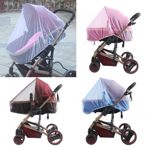 Newborn Baby Stroller Crip Netting Toddler Infant Pushchair Mosquito Insect Net Safe Mesh Outdoor Baby Care