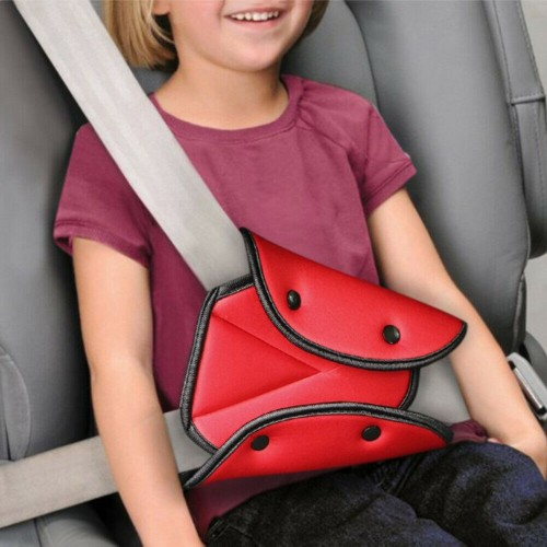 Newest Baby Kids Car Seat Belt Triangle Safety Holder Protect Child Seat Cover Adjuster Useful Protection
