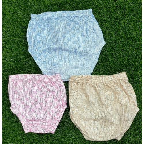 Set Of Three 100% Cotton Baby Boys Girls Shorts Underwears High Quality
