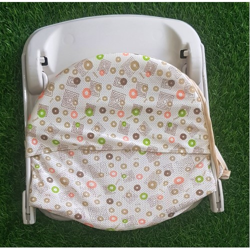 Baby Bather Newborn Foldable Soft Polyester Mesh Chair High Quality Slip Resistant Head Support Bath Rack Infant Care