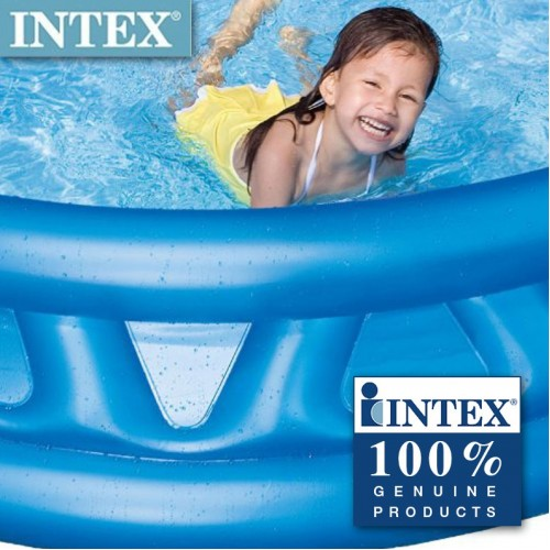 """74"""" x 18"""" Intex  Soft Side Round Inflatable Garden Swimming Pool For Kiddie,Adult"""