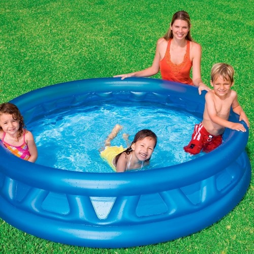 "74"" x 18"" Intex  Soft Side Round Inflatable Garden Swimming Pool For Kiddie,Adult"
