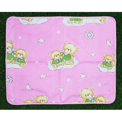 60cm x 75cm Baby Waterproof Sheet Urine Changing Pads Reusable Infant Bedding Nappy Changing Mat