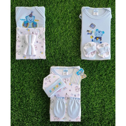 10PCS Newborn Baby Gift Set 0-3M Infant Clothing Suit Newborn Cotton Baby Boy Girl Outfit