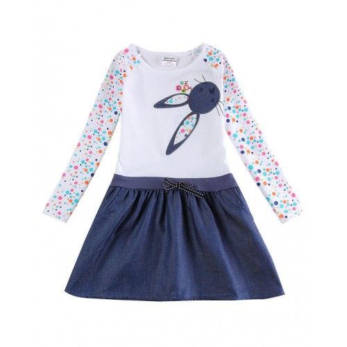 Baby Girl Dress Long Sleeve Kids Dresses for Girls