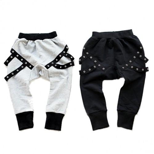 Baby Girls Pants Children Fashion Pants Cotton Toddler Kids Black