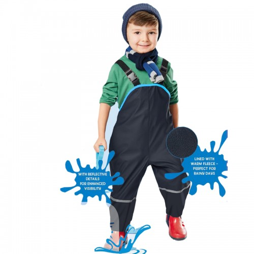 Children Waterproof Overalls New Boys Girls Trousers 2 7Yrs Children ski pants