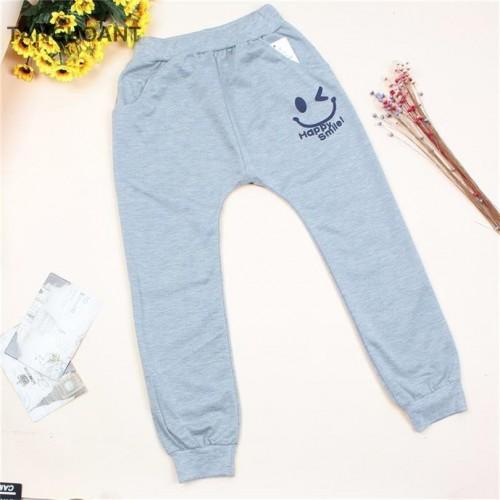 Children cotton pants Boys Girls Casual Pants 2 Colors Kids Sports