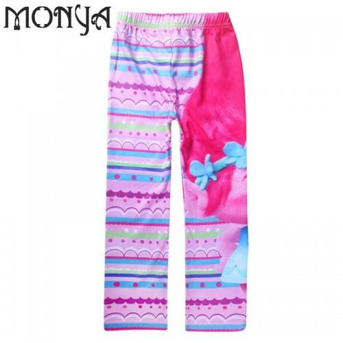 Girls Pants Official DreamWorks Trolls Girls Leggings Bottoms 6 10Years of Girls Leggings Pants kids legging
