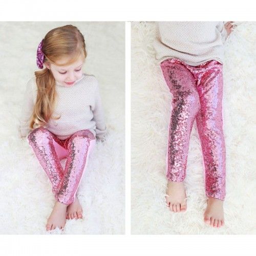 Little girls personalized red sequin pants Baby Girls Sequin Leggings Toddler Gold Sparkle Leggings Birthday Pants