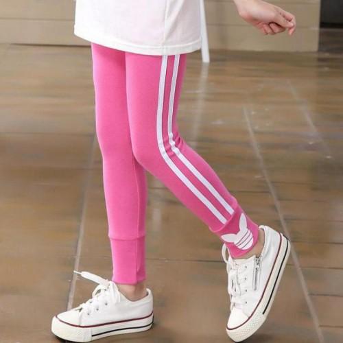 Spring autumn girls leggings cotton pants for girls sport leggings girls clothing 3 8 Years