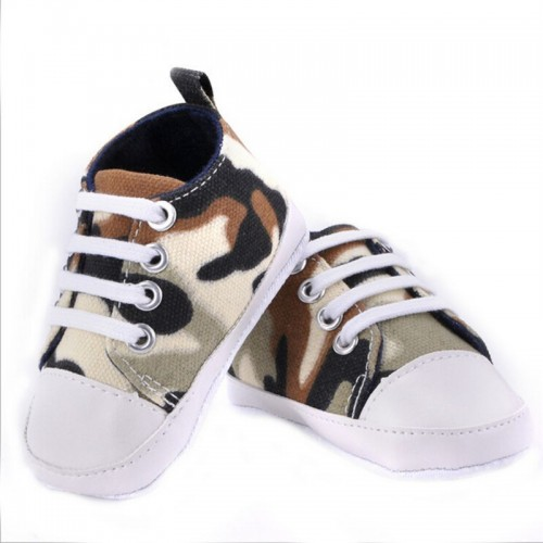 Camouflage Baby Fashion Canvas Shoes Soft Prewalkers Casual Toddler Shoes